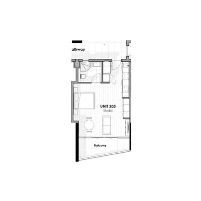 Unit 203 - Studio