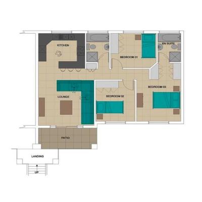 3-Bedroom Unit
