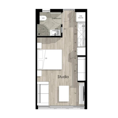 Studio unit - 2305