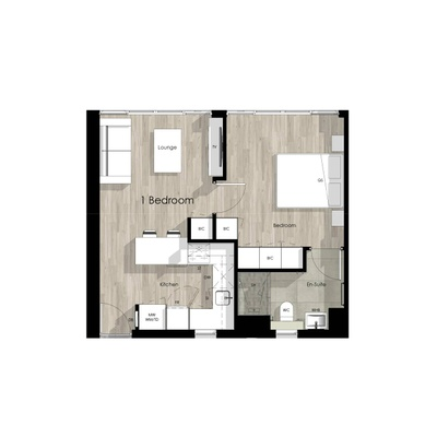 One bed units - 1215 / 1915 / 2315 / 2809