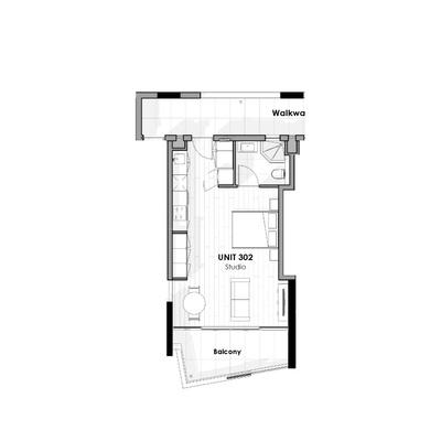 Unit 302 - Studio