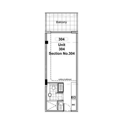 Studio Unit 304,305,306,307