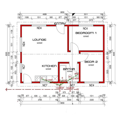House 52m²