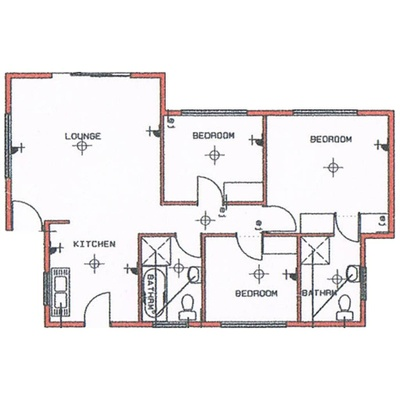 Unit Type 80sqm