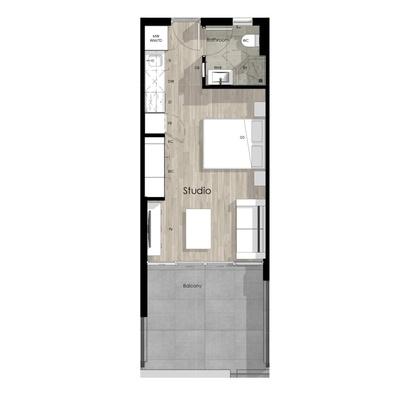 Studio unit - 1204