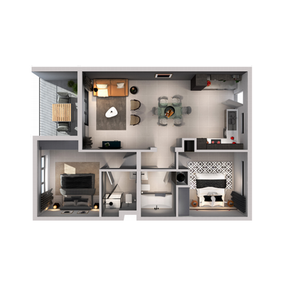 2-Bed Apartment