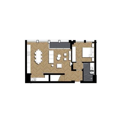 3 Bed Duplex Pent