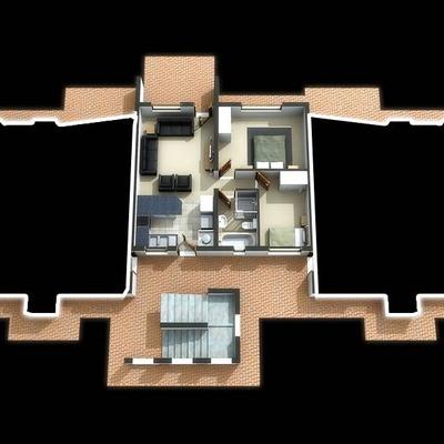 Blackburn Type B ground floor middle