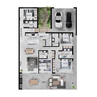 Villa Type 4B