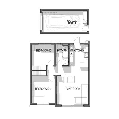 Ground Floor Apartment - Unit 18