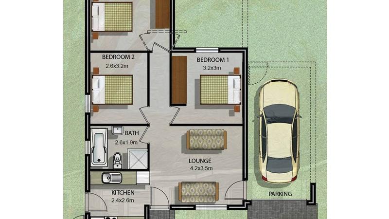 Unit Type D1 - additional floor plan image