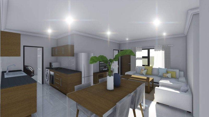 Kitchen / Living room / Dining