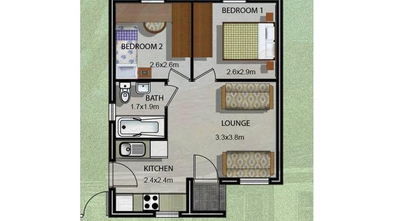 Unit Type E - additional floor plan image