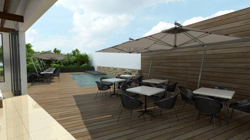 Regency outside / Pool