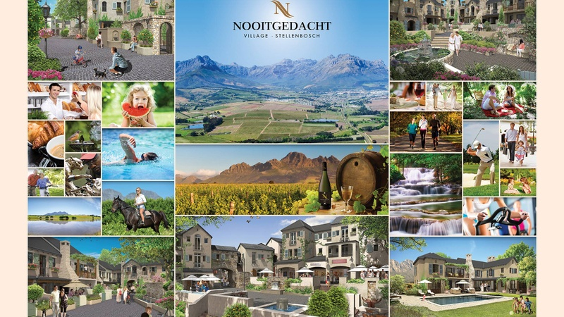 Nooitgedacht Village Poster