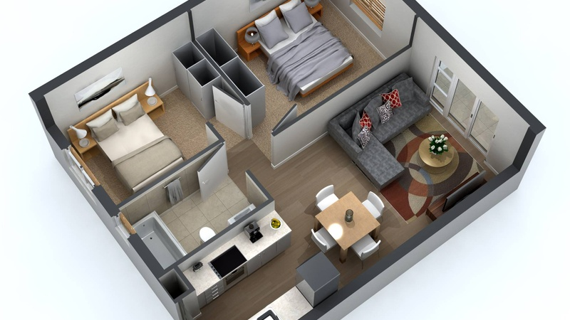 Plan Type ABC Apartment