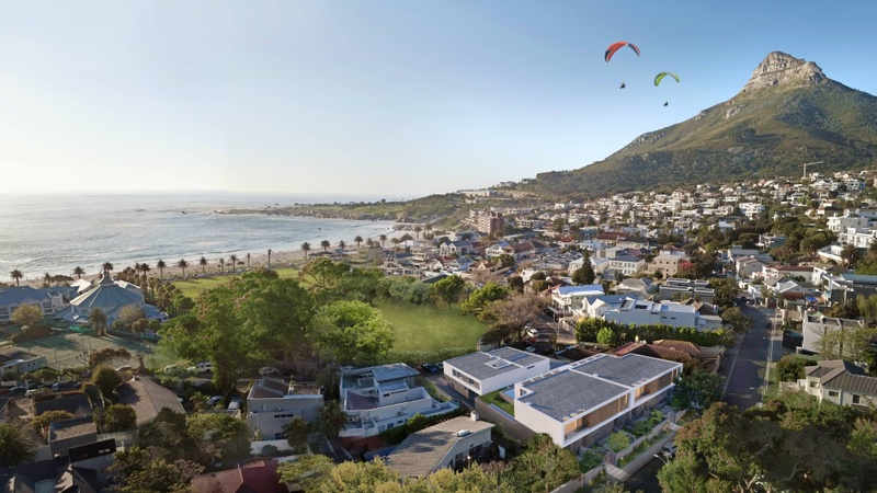 Aerial View: Walking Distance to Camps Bay Beach