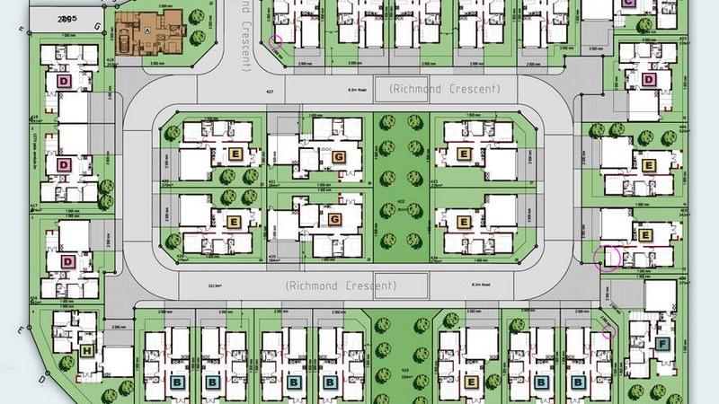 Richmond Grove -  Site Development Plan
