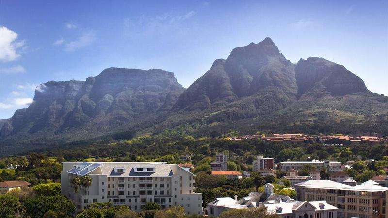 View towards the mountain