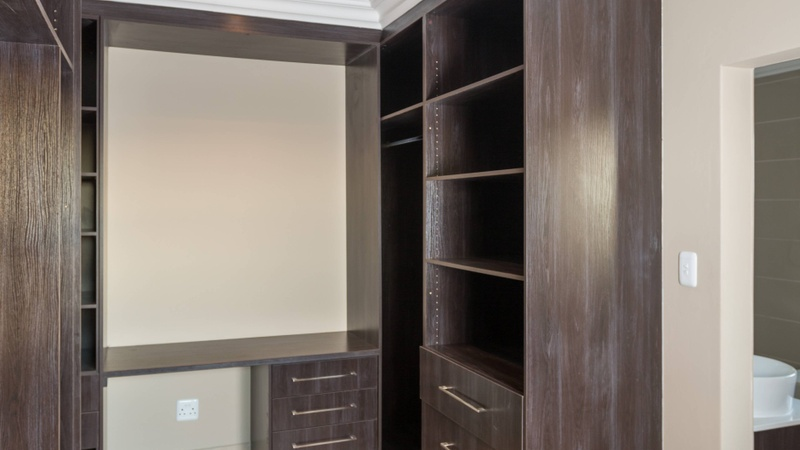 Interior / walk-in closet