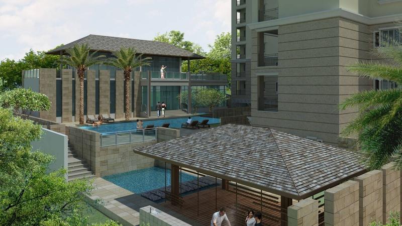 Massage Pavilion & Pool