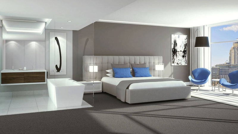 Bedroom Interior Carpet Option