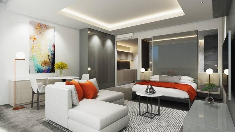 Studio apartment example