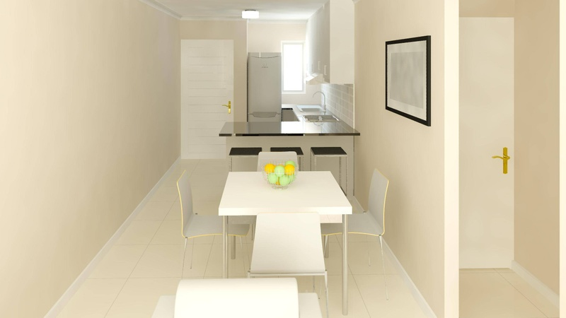 Lounge / Dining / Kitchen