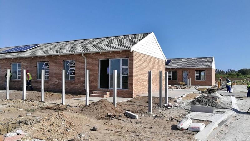 Exterior building progress