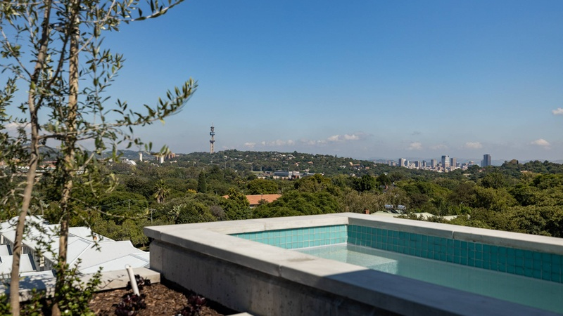 Roof top amenities and views
