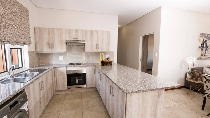 3 Bedroom unit - kitchen