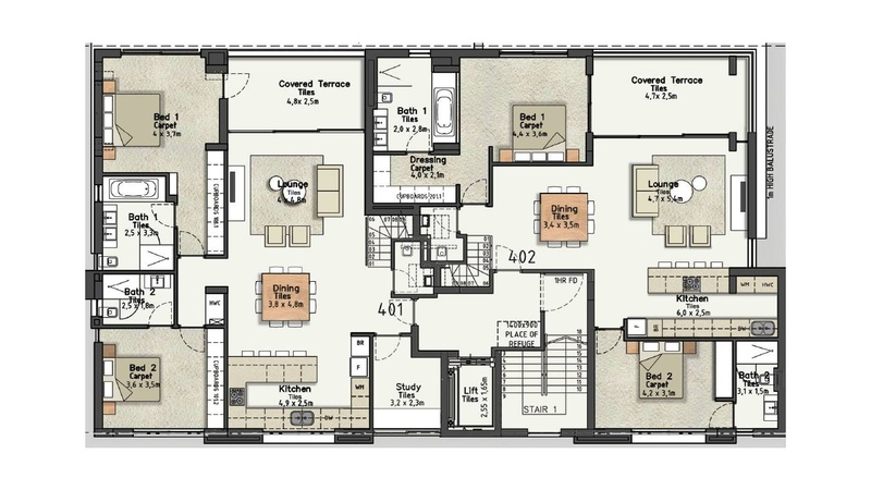 4th Floor layout