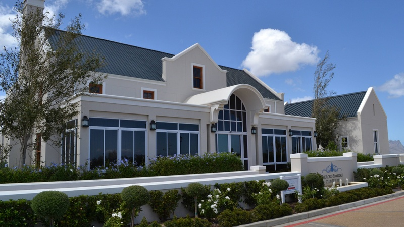 Clubhouse exterior
