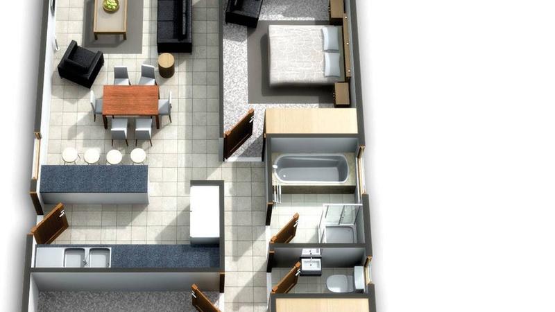 Artist Floor Plan - Type A