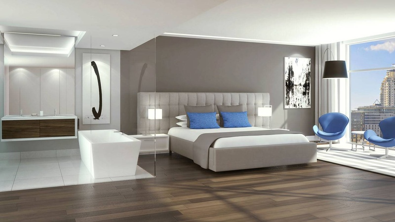 Bedroom Interior Wood Option