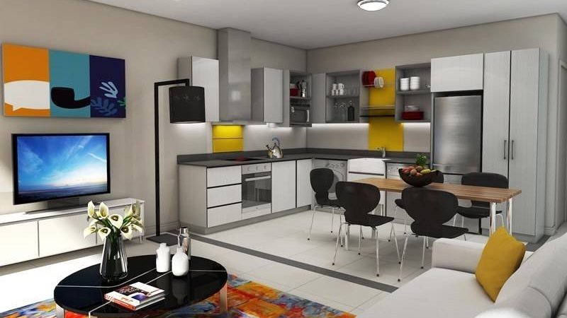 Interior / Kitchen / Dining / Living
