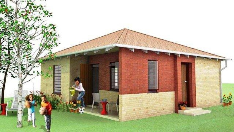 Exterior (3 Bed Unit Pyramid Roof)
