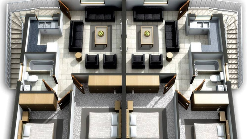 Artist Floor Plan - Type C - 1st Floor