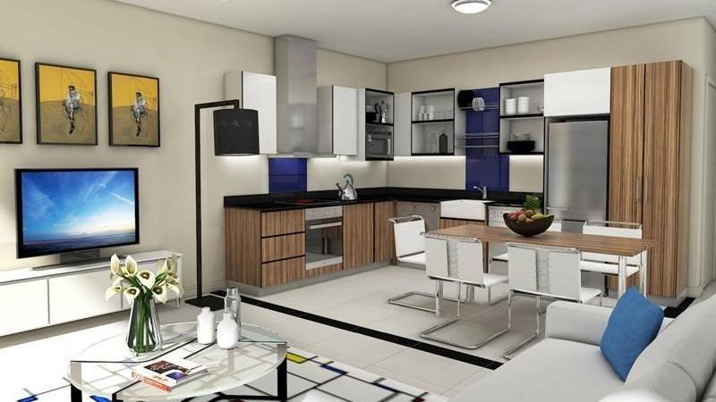 Interior / Kitchen / Dining / Living room