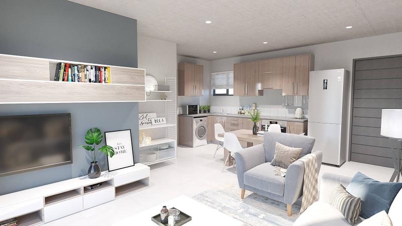 1 Bedroom Lounge Interior