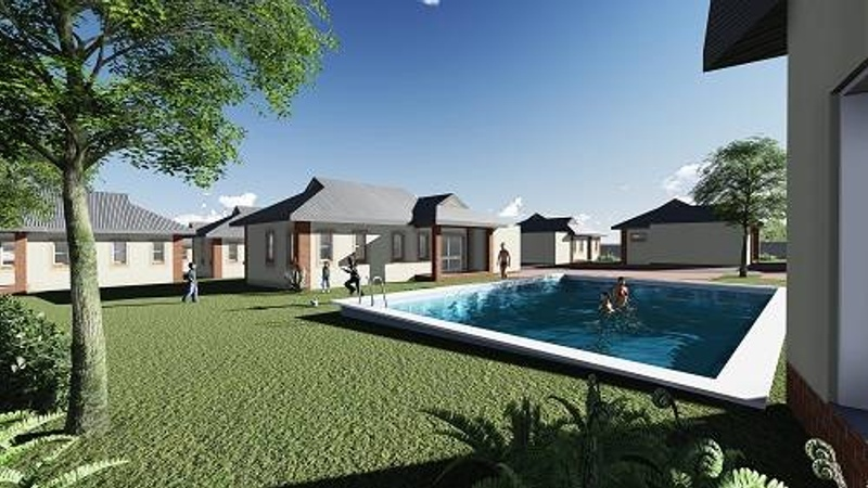 Exterior - including swimming pool