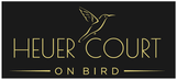Heuer Court on Bird logo