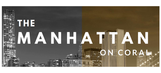 The Manhattan on Coral logo