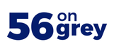 56 on Grey logo
