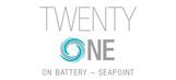 21 on Battery logo