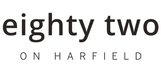 Eighty Two on Harfield logo