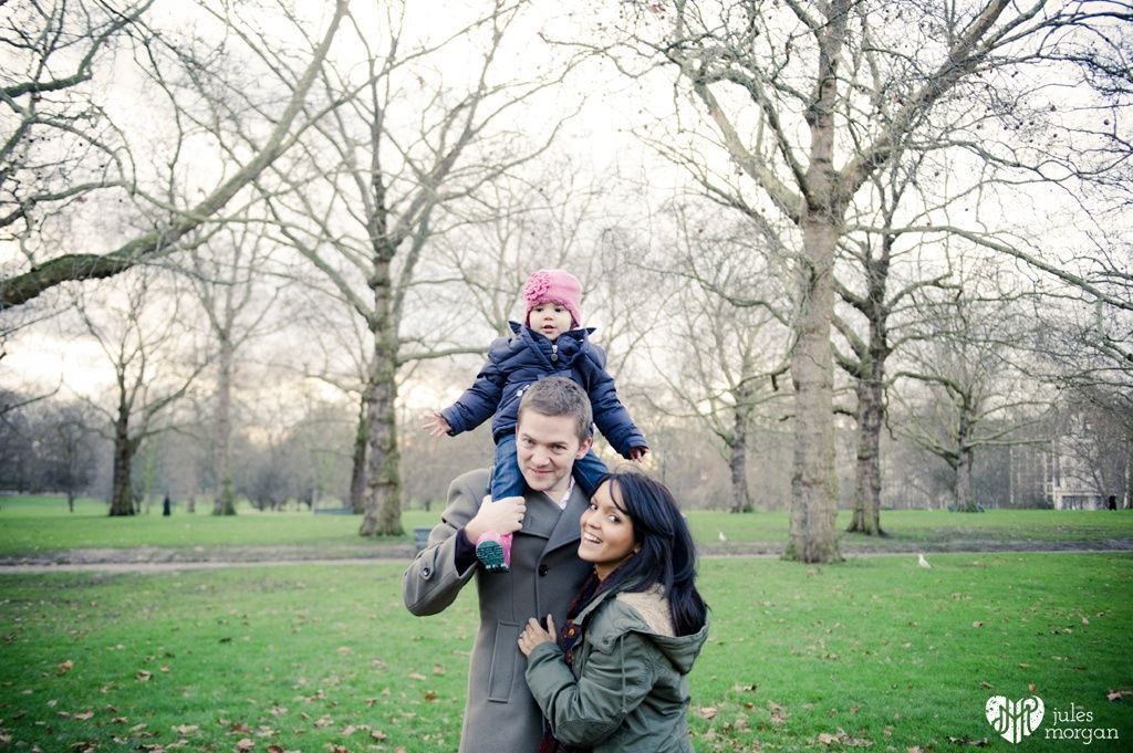 Portia, Anthon and Freya in London