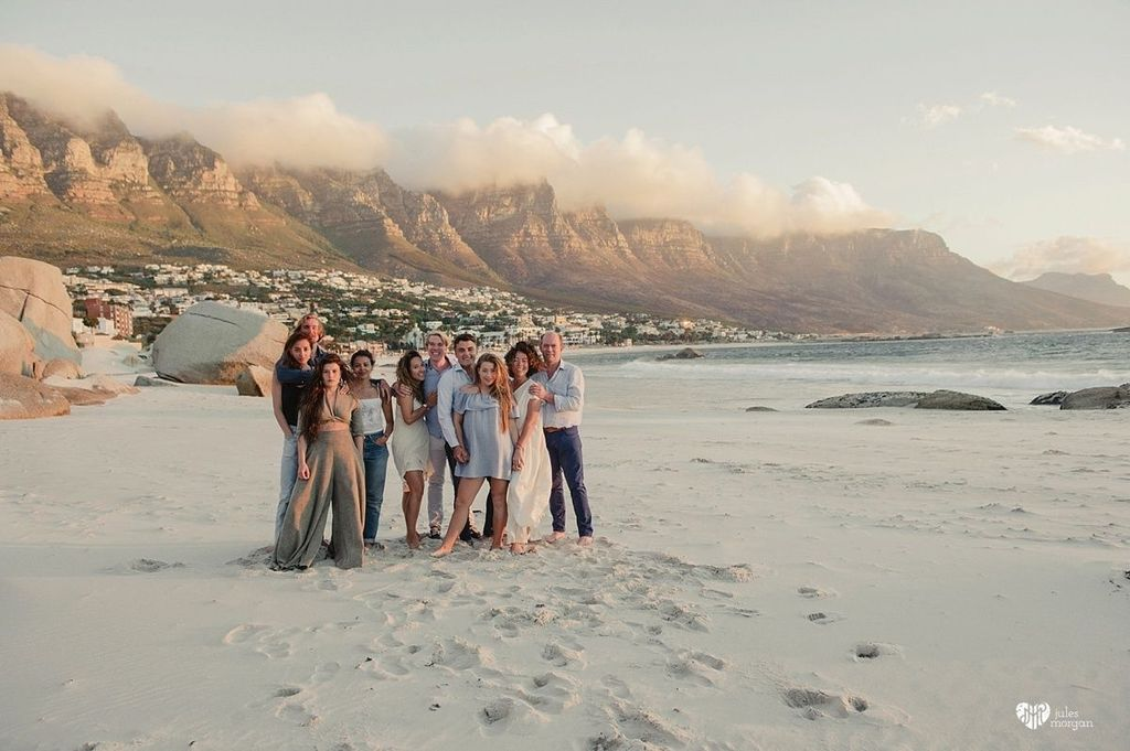 Irmgard's Family // Camps Bay Beach