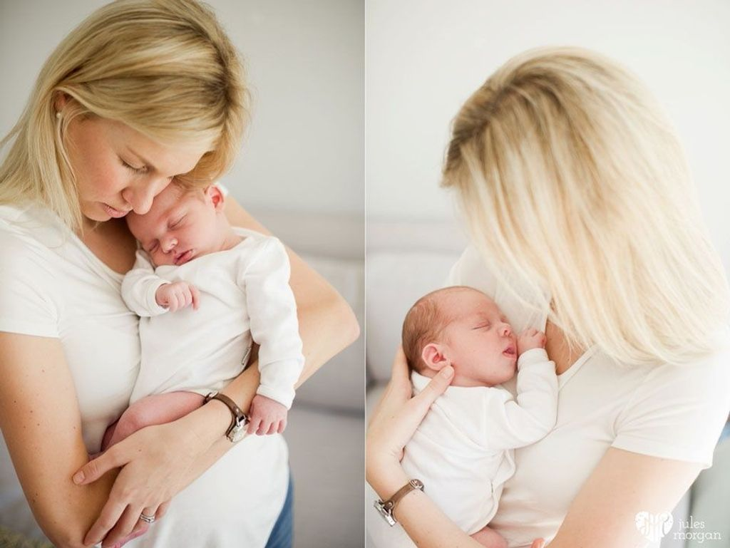 Claire, Jonathan and Baby James