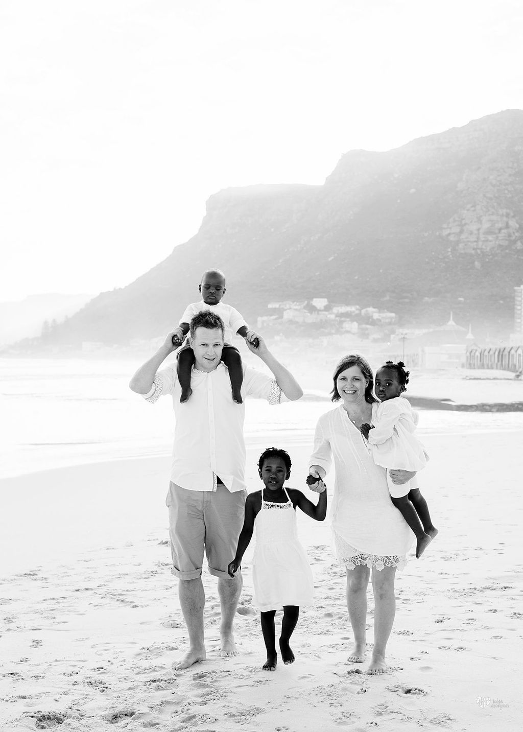 Anita, Terje and family // Muizenberg beach